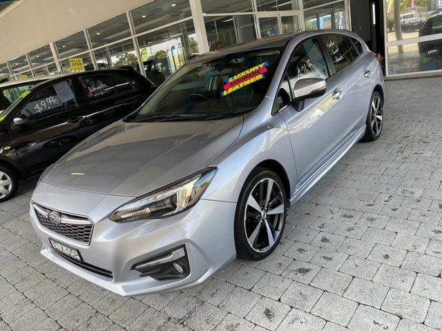 Used Subaru Impreza 2.0I-S Taree, 2017 Subaru Impreza 2.0I-S Silver Constant Variable Hatchback