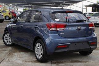 2019 Kia Rio YB MY20 S Blue 4 Speed Sports Automatic Hatchback.