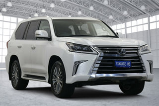 2019 Lexus LX VDJ201R LX450d Pearl White 6 Speed Sports Automatic Wagon