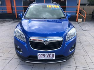 2014 Holden Trax TJ MY15 LTZ Blue 6 Speed Automatic Wagon.
