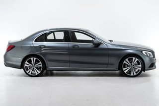 2018 Mercedes-Benz C-Class W205 808MY C200 9G-Tronic Grey 9 Speed Sports Automatic Sedan