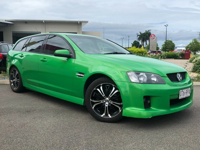 Used Holden Commodore VE MY10 SV6 Sportwagon Garbutt, 2009 Holden Commodore VE MY10 SV6 Sportwagon Green 6 Speed Sports Automatic Wagon