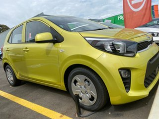 2020 Kia Picanto JA MY21 S Lime Green 4 Speed Automatic Hatchback.