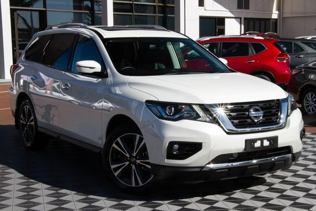 Used Nissan Pathfinder R52 Series III MY19 Ti X-tronic 2WD Attadale, 2020 Nissan Pathfinder R52 Series III MY19 Ti X-tronic 2WD Ivory Pearl 1 Speed Constant Variable