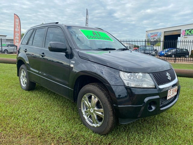 Used Suzuki Grand Vitara JB MY09 Berrimah, 2008 Suzuki Grand Vitara JB MY09 Black 5 Speed Manual Wagon