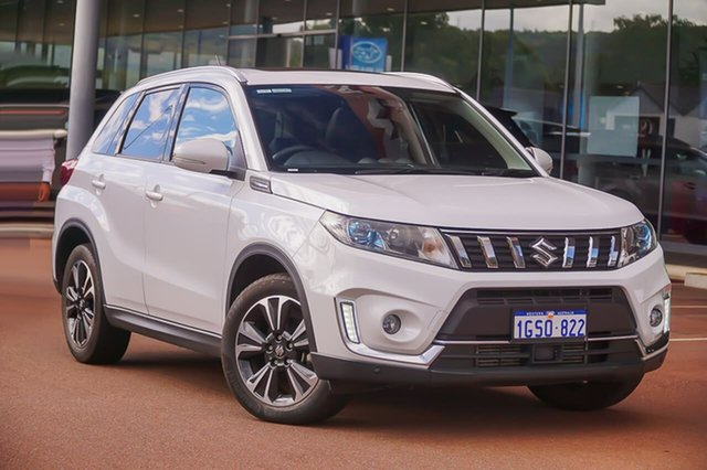 Used Suzuki Vitara LY Series II Turbo 4WD Gosnells, 2019 Suzuki Vitara LY Series II Turbo 4WD White 6 Speed Sports Automatic Wagon