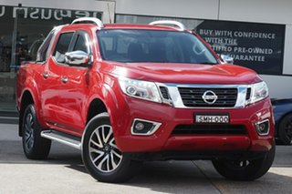 2019 Nissan Navara D23 S3 ST-X Burning Red 7 Speed Sports Automatic Utility.