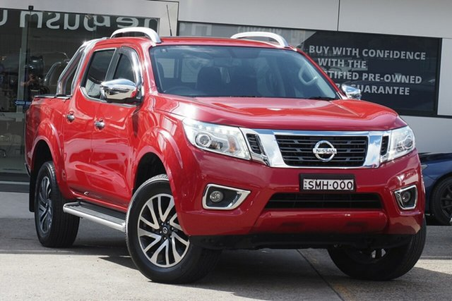 Used Nissan Navara D23 S3 ST-X Homebush, 2019 Nissan Navara D23 S3 ST-X Burning Red 7 Speed Sports Automatic Utility