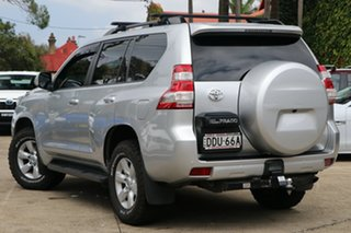 2016 Toyota Landcruiser Prado GDJ150R MY16 GXL (4x4) Silver Pearl 6 Speed Automatic Wagon.