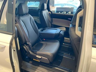 2021 Kia Carnival KA4 MY21 Platinum Snow White Pearl 8 Speed Sports Automatic Wagon