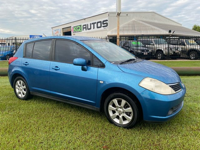 Used Nissan Tiida C11 ST-L Berrimah, 2006 Nissan Tiida C11 ST-L Blue 6 Speed Manual Hatchback