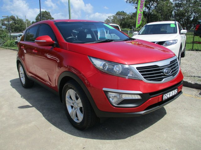 Used Kia Sportage SL MY12 SI Glendale, 2012 Kia Sportage SL MY12 SI Red 5 Speed Manual Wagon