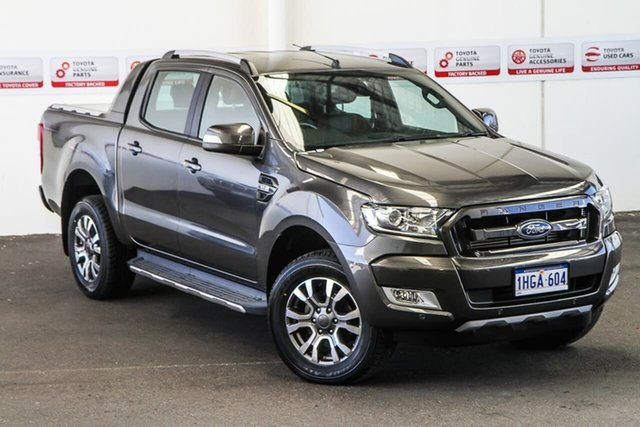 Pre-Owned Ford Ranger PX MkII MY18 Wildtrak 3.2 (4x4) Rockingham, 2018 Ford Ranger PX MkII MY18 Wildtrak 3.2 (4x4) Grey 6 Speed Automatic Dual Cab Pick-up