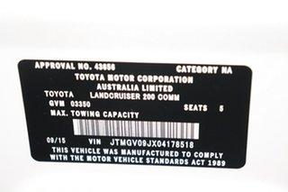 2015 Toyota Landcruiser VDJ200R GX White 6 speed Automatic Wagon