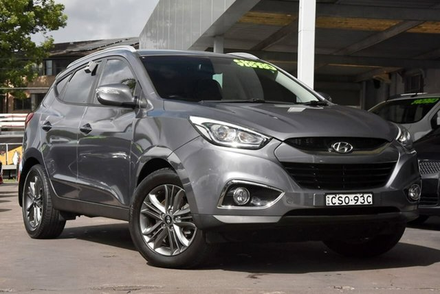 Used Hyundai ix35 LM3 MY14 Trophy AWD Waitara, 2014 Hyundai ix35 LM3 MY14 Trophy AWD Grey 6 Speed Sports Automatic Wagon