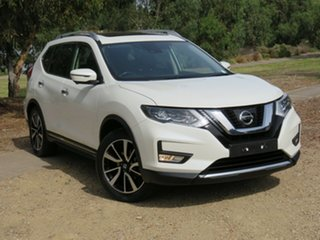 2017 Nissan X-Trail T32 Series II Ti X-tronic 4WD White 7 Speed Constant Variable Wagon.