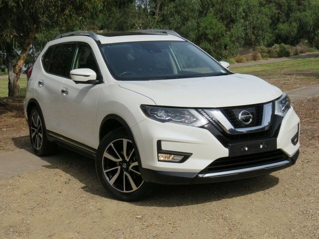 Used Nissan X-Trail T32 Series II Ti X-tronic 4WD Morphett Vale, 2017 Nissan X-Trail T32 Series II Ti X-tronic 4WD White 7 Speed Constant Variable Wagon