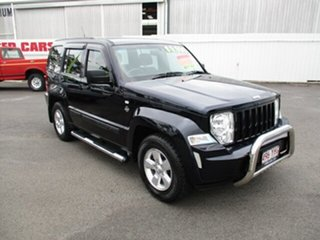 2011 Jeep Cherokee SPORT 4x4 Black 4 Speed Automatic Wagon.