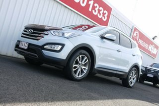 2012 Hyundai Santa Fe DM MY13 Elite Silver Blue 6 Speed Sports Automatic Wagon.