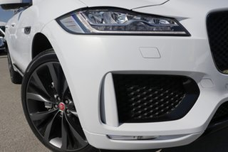 2020 Jaguar F-PACE X761 MY20 Chequered Flag Yulong White 8 Speed Sports Automatic Wagon.
