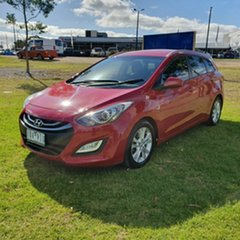 2013 Hyundai i30 GD Active Tourer Red 6 Speed Sports Automatic Wagon