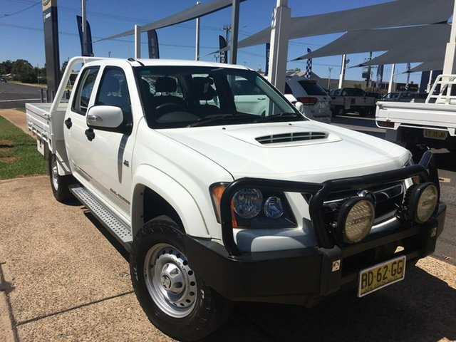 Used Holden Colorado RC LX Dubbo, 2009 Holden Colorado RC LX White Manual