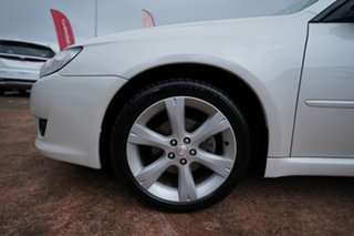 2007 Subaru Liberty MY07 2.5I White 4 Speed Auto Elec Sportshift Wagon.