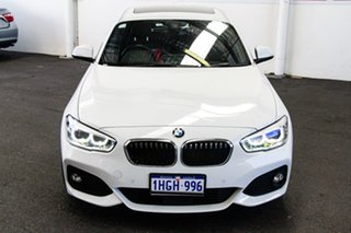 2015 BMW 125i F20 LCI Sport Line White 8 Speed Automatic Hatchback.