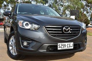 2017 Mazda CX-5 KE1072 Maxx SKYACTIV-Drive FWD Grey 6 Speed Sports Automatic Wagon.