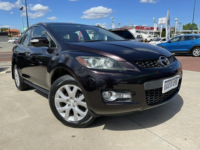 Used Mazda CX-7 ER Luxury (4x4) Victoria Park, 2008 Mazda CX-7 ER Luxury (4x4) Black 6 Speed Auto Activematic Wagon