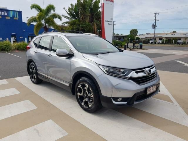 Pre-Owned Honda CR-V RW MY18 VTi-L FWD Gladstone, 2017 Honda CR-V RW MY18 VTi-L FWD Silver 1 Speed Constant Variable Wagon