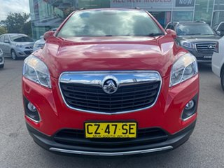 2015 Holden Trax TJ MY15 LTZ Red 6 Speed Automatic Wagon.