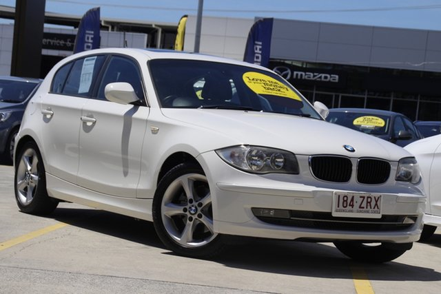 Used BMW 120i E87 MY11 120i Aspley, 2011 BMW 120i E87 MY11 120i White 6 Speed Automatic Hatchback