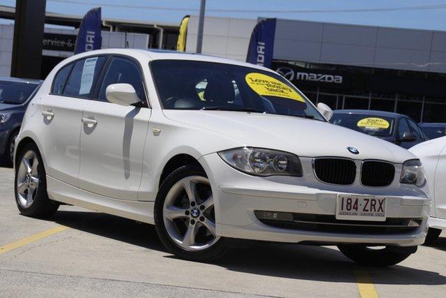 Used BMW 120i E87 MY11 120i Aspley, 2011 BMW 120i E87 MY11 120i White 6 Speed Automatic Hatchback
