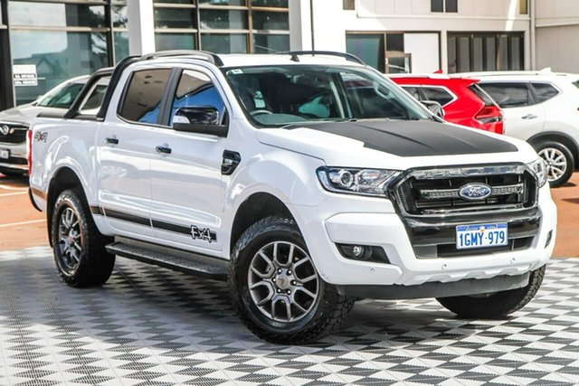 Used Ford Ranger PX MkII 2018.00MY FX4 Double Cab Attadale, 2018 Ford Ranger PX MkII 2018.00MY FX4 Double Cab White 6 Speed Sports Automatic Utility