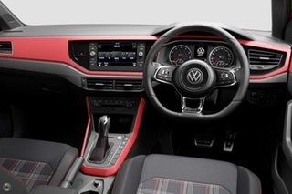 2020 Volkswagen Polo AW MY21 GTI DSG Grey 6 Speed Sports Automatic Dual Clutch Hatchback.