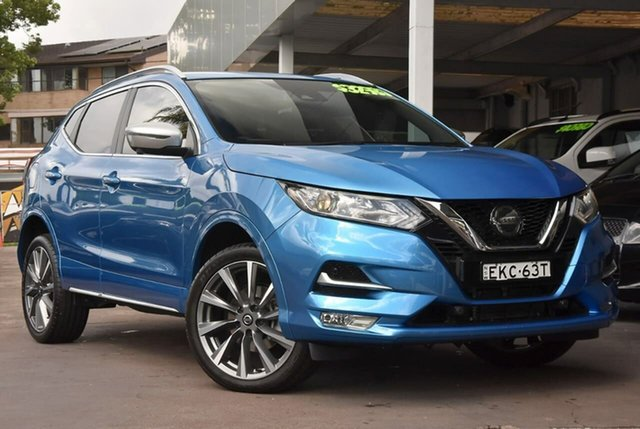 Used Nissan Qashqai J11 Series 3 MY20 N-SPORT X-tronic Waitara, 2019 Nissan Qashqai J11 Series 3 MY20 N-SPORT X-tronic Blue 1 Speed Constant Variable Wagon
