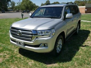 2016 Toyota Landcruiser VDJ200R MY16 VX (4x4) Silver Pearl 6 Speed Automatic Wagon