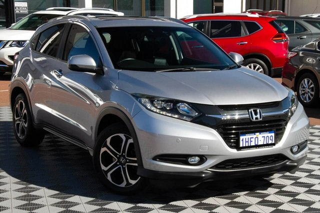 Used Honda HR-V MY15 VTi-L Attadale, 2015 Honda HR-V MY15 VTi-L Silver 1 Speed Constant Variable Hatchback