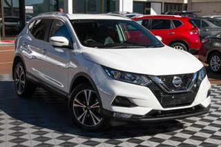 2019 Nissan Qashqai J11 Series 2 ST-L X-tronic Ivory Pearl 1 Speed Constant Variable Wagon.