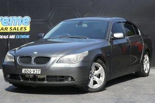 2004 BMW 5 Series E60 530i Steptronic Grey 6 Speed Sports Automatic Sedan.
