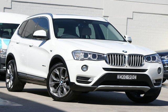 Used BMW X3 F25 LCI xDrive30d Steptronic Brookvale, 2015 BMW X3 F25 LCI xDrive30d Steptronic White 8 Speed Sports Automatic Wagon