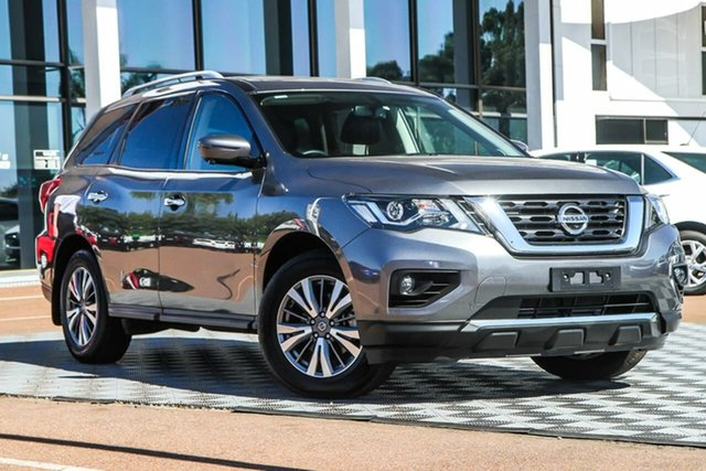Used Nissan Pathfinder R52 Series III MY19 ST-L X-tronic 4WD Attadale, 2020 Nissan Pathfinder R52 Series III MY19 ST-L X-tronic 4WD Gun Metallic 1 Speed Constant Variable