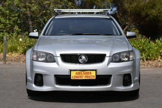 2011 Holden Commodore VE II MY12 SV6 Sportwagon Silver 6 Speed Sports Automatic Wagon.