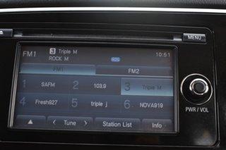 2013 Mitsubishi Outlander ZJ MY13 LS 4WD Silver 6 Speed Sports Automatic Wagon