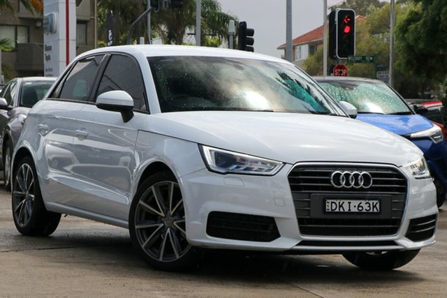 Pre-Owned Audi A1 8X MY16 Sportback 1.0 TFSI Mosman, 2016 Audi A1 8X MY16 Sportback 1.0 TFSI 7 Speed Auto Direct Shift Hatchback