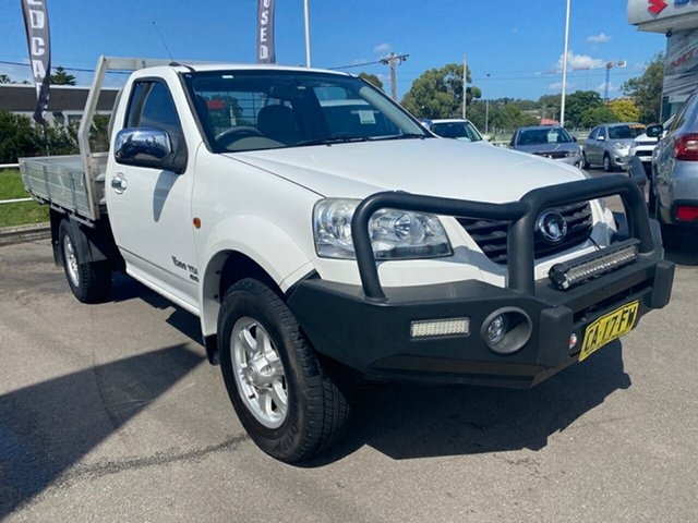 Used Great Wall V200 K2 MY14 Cardiff, 2014 Great Wall V200 K2 MY14 White 6 Speed Manual Cab Chassis