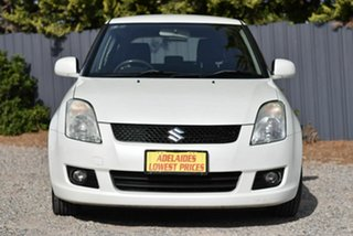 2008 Suzuki Swift RS415 GLX White 4 Speed Automatic Hatchback.
