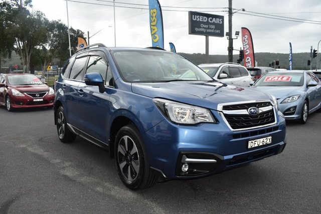Used Subaru Forester S4 MY16 2.5i-L CVT AWD Gosford, 2016 Subaru Forester S4 MY16 2.5i-L CVT AWD Blue 6 Speed Constant Variable Wagon