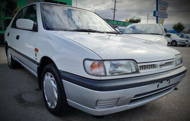 Used Nissan Pulsar N14 ES TI Cheltenham, 1992 Nissan Pulsar N14 ES TI White 4 Speed Automatic Hatchback